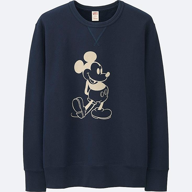 MEN DISNEY COLLECTION SWEATSHIRT, NAVY, large