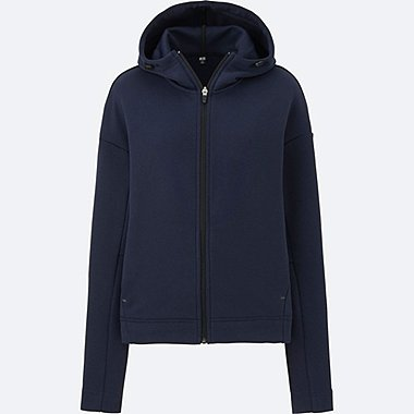 WOMEN Dry Sweat Long Sleeve Full Zip Hoodie