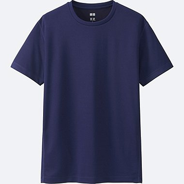 MEN Dry-EX Short Sleeve Crew Neck T-Shirt