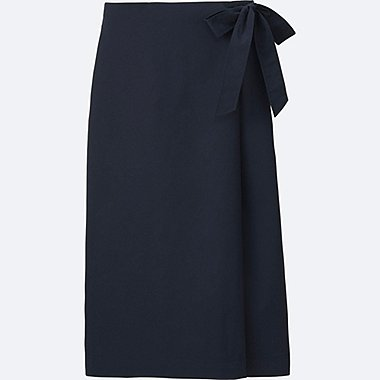 WOMEN High Waist Wrap Midi Culottes Trousers