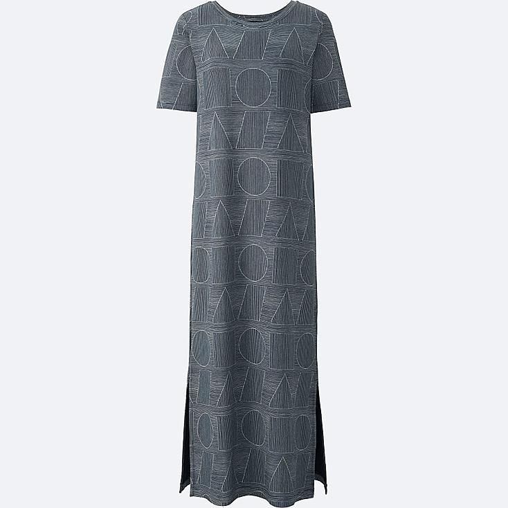 WOMEN SPRZ NY SHORT SLEEVE T DRESS (FRANCOIS MORELLET), NAVY, large