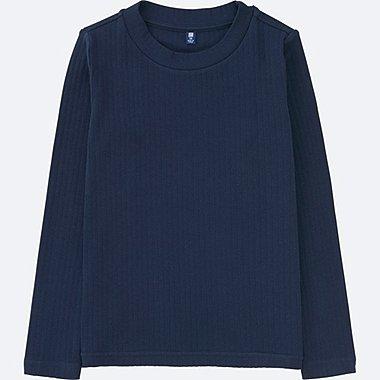 GIRLS Ribbed Long Sleeve T-Shirt