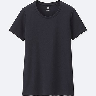 DAMEN SUPIMA COTTON T-SHIRT RUNDHALS