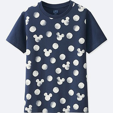 KIDS MICKEY BLUE SHORT-SLEEVE GRAPHIC T-SHIRT, NAVY, medium