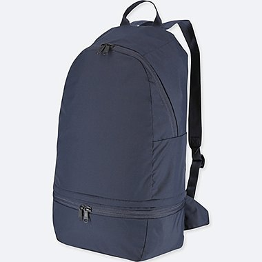 MEN POCKETABLE BACKPACK (ONLINE EXCLUSIVE), NAVY, medium