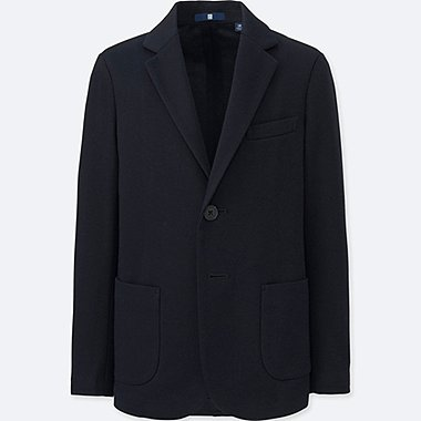 BOYS COMFORT JACKET (ONLINE EXCLUSIVE), NAVY, medium