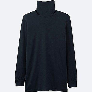 HEATTECH Camiseta Manga Larga Cuello Vuelto HOMBRE