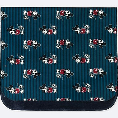 DISNEY HOLIDAY COLLECTION FLEECE BLANKET, NAVY, medium