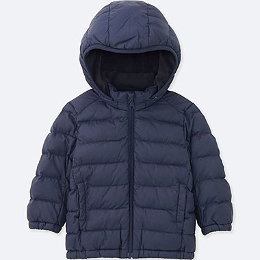 TODDLER LIGHT WARM PADDED FULL-ZIP PARKA, NAVY, medium
