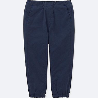 TODDLER STRETCH WARM-LINED PANTS, NAVY, medium