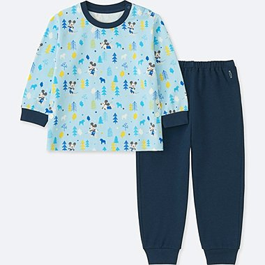 BABIES TODDLER DISNEY TEXTILE COLLECTION LONG SLEEVE PYJAMAS