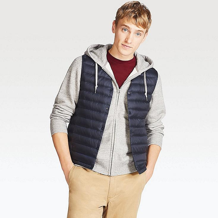 Ultra Light Down Compact Vest, NAVY, large