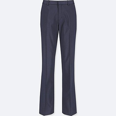WOMEN STRETCH PANTS (ONLINE EXCLUSIVE), NAVY, medium