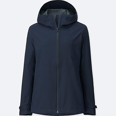 WOMEN BLOCKTECH PARKA, NAVY, medium