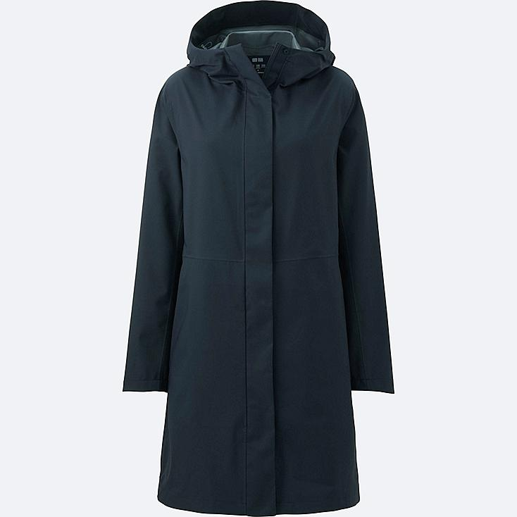 WOMEN BLOCKTECH COAT, NAVY, large