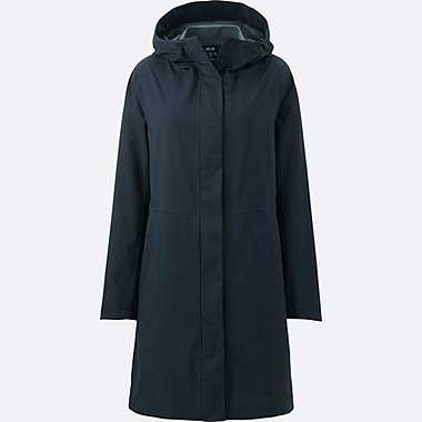 WOMEN BLOCKTECH COAT, NAVY, medium