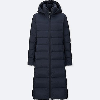 WOMEN ULTRA LIGHT DOWN STRETCH LONG COAT