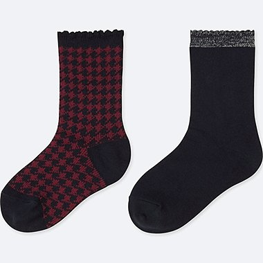 GIRLS REGULAR SOCKS (2 PAIRS)