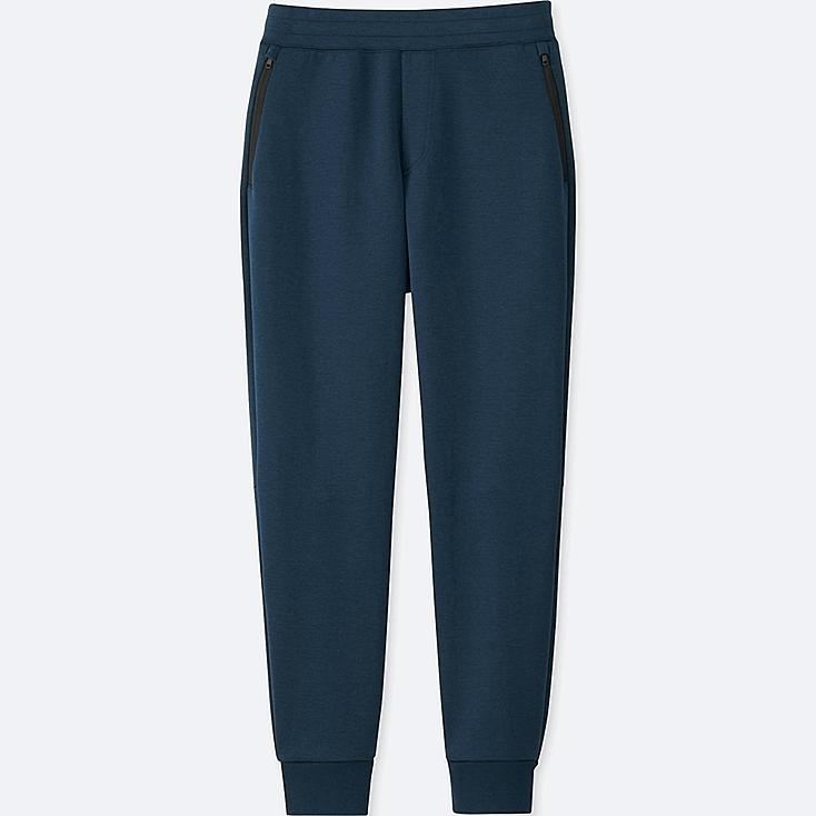 MEN DRY STRETCH SWEATPANTS, NAVY, large