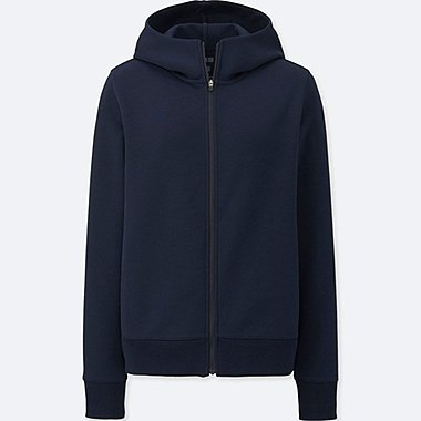 WOMEN DRY STRETCH LONG SLEEVE FULL-ZIP HOODIE