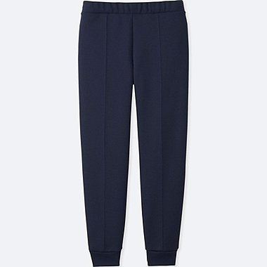 WOMEN DRY STRETCH SWEAT PANTS, NAVY, medium