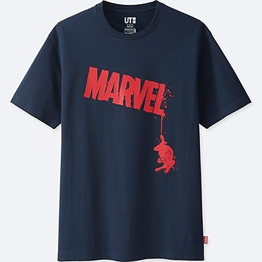 MEN SPIDER-MAN SHORT SLEEVE GRAPHIC T-SHIRT