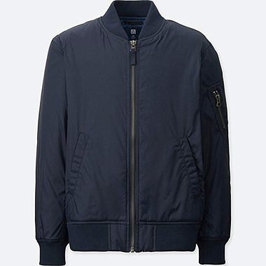 KIDS MA-1 BLOUSON, NAVY, medium