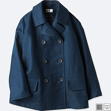 WOMEN UNIQLO U PEA COAT