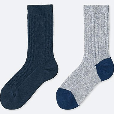 WOMEN HEATTECH 2 PAIR SOCKS