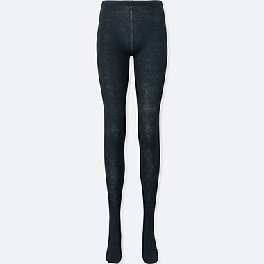 WOMEN HEATTECH KNITTED TIGHTS