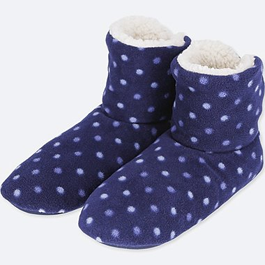 WOMEN FLEECE ROOM SHOES