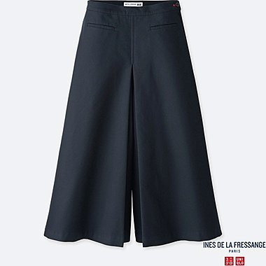 WOMEN INES COTTON CULOTTE TROUSERS
