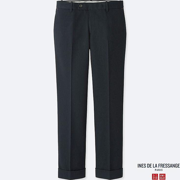 WOMEN INES WOOL BLENDED TROUSERS