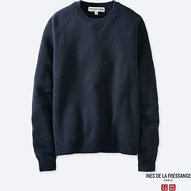 WOMEN INES CASHMERE CREW NECK SWEATER