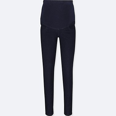 WOMEN MATERNITY DENIM LEGGINGS TROUSERS