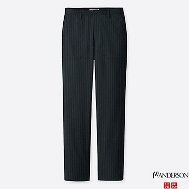 MEN J.W.ANDERSON WOOL-BLEND TROUSERS