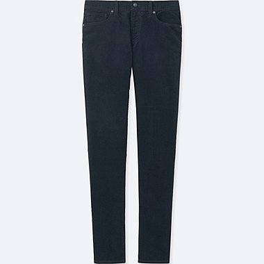 MEN HEATTECH SLIM FIT CORDUROY JEANS
