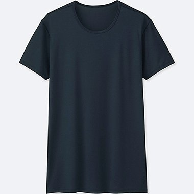 MEN AIRISM MESH CREW NECK T-SHIRT
