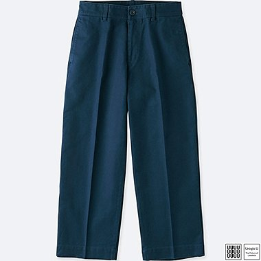 WOMEN UNIQLO U FRONT CREASE TROUSERS