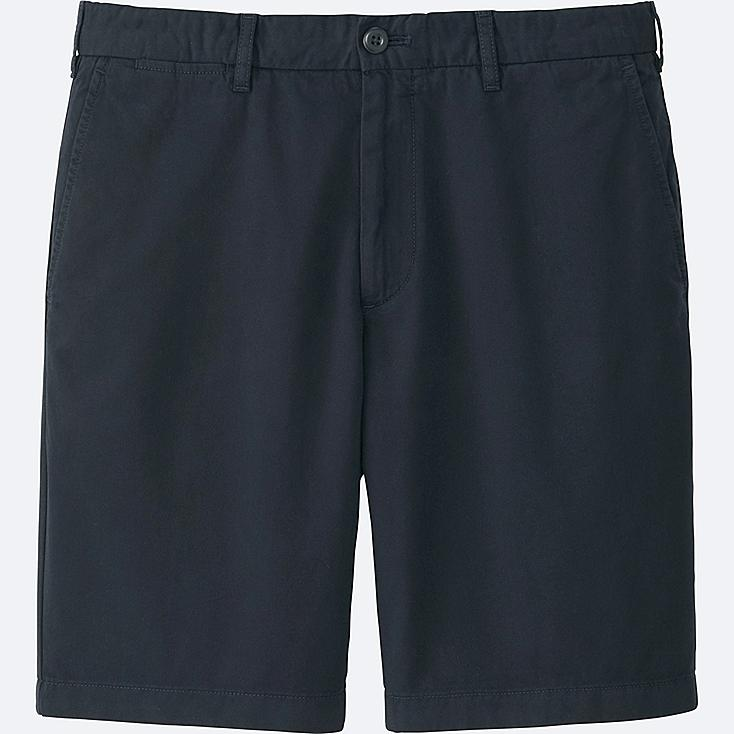 MEN CHINO SHORTS, NAVY, large