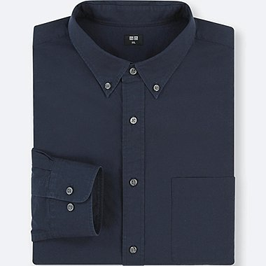 HERREN HEMD AUS EXTRA-FEINER BAUMWOLLE (REGULAR FIT, BUTTON-DOWN-KRAGEN)