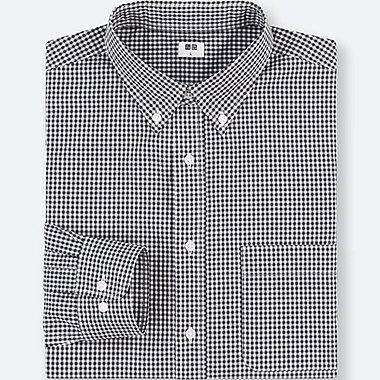 MEN EXTRA FINE COTTON REGULAR FIT CHECKED SHIRT (BUTTON-DOWN COLLAR)
