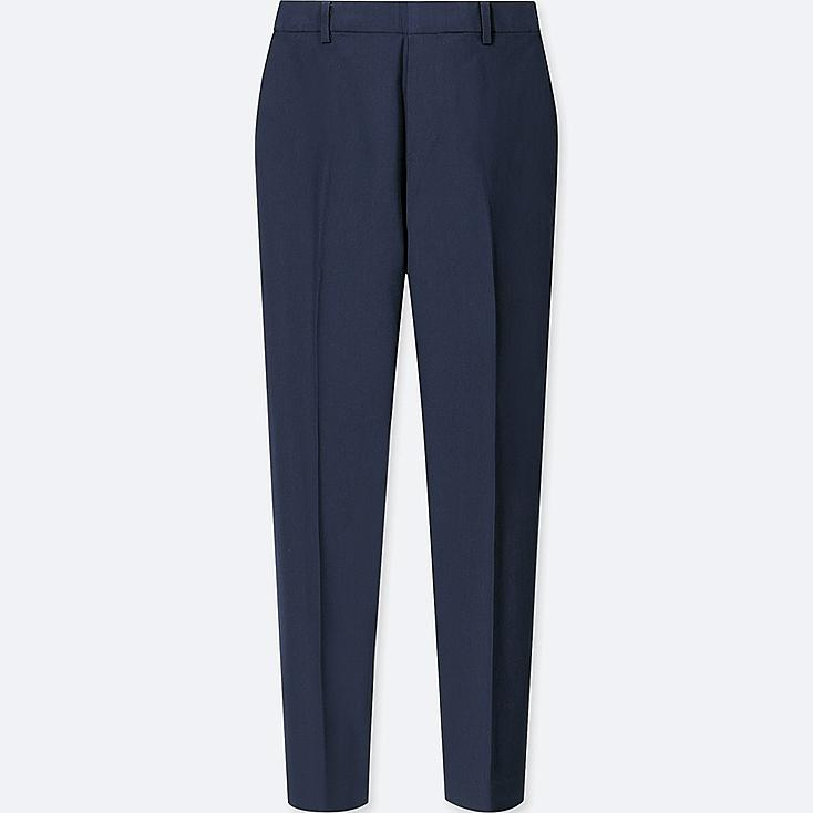 WOMEN SATIN ANKLE PANTS at UNIQLO in Brooklyn, NY | Tuggl