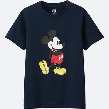 KIDS MICKEY STANDS GRAPHIC SHORT-SLEEVE T-SHIRT, NAVY, medium