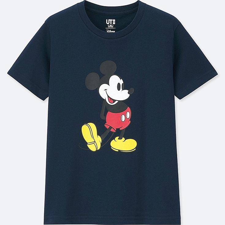 KIDS MICKEY STANDS GRAPHIC SHORT-SLEEVE T-SHIRT, NAVY, large