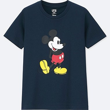 KIDS MICKEY STANDS SHORT SLEEVE GRAPHIC T-SHIRT