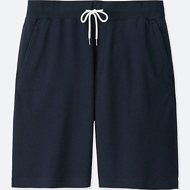 MEN JERSEY EASY SHORTS, NAVY, medium