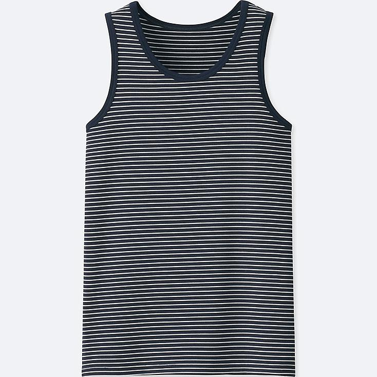 KIDS AIRism TANK TOP, NAVY, large