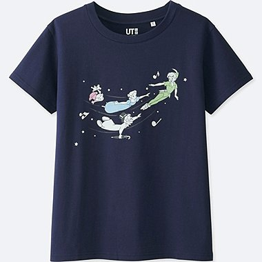 WOMEN SOUNDS OF DISNEY SHORT-SLEEVE GRAPHIC T-SHIRT, NAVY, medium