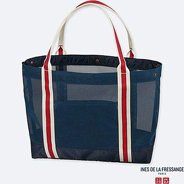 WOMEN IDLF MESH BAG, NAVY, medium